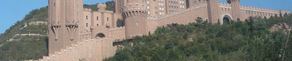 dalian slott Kina